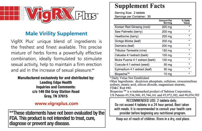 Image result for vigrx plus ingredients